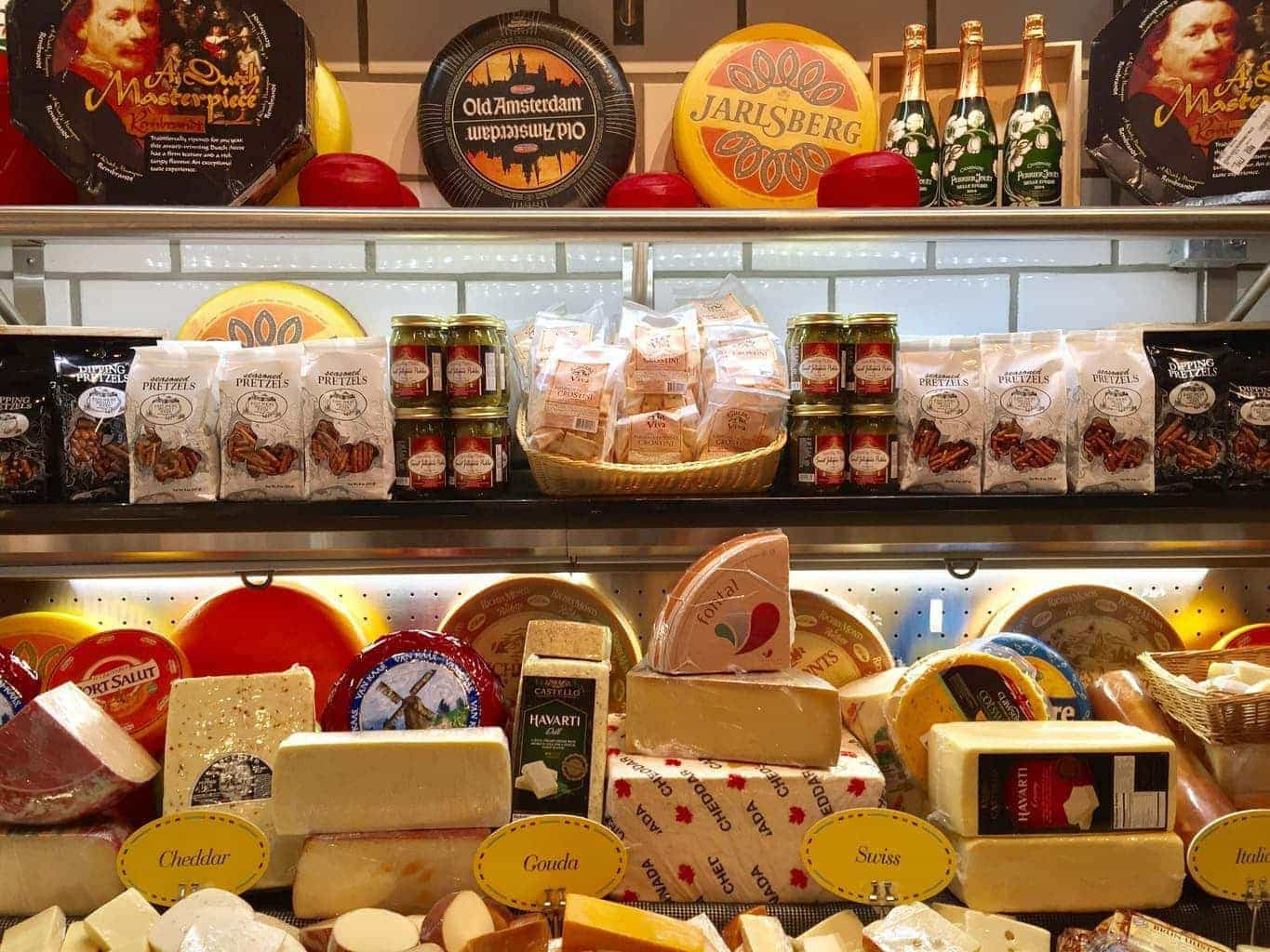 A world of cheese at Eatzi's