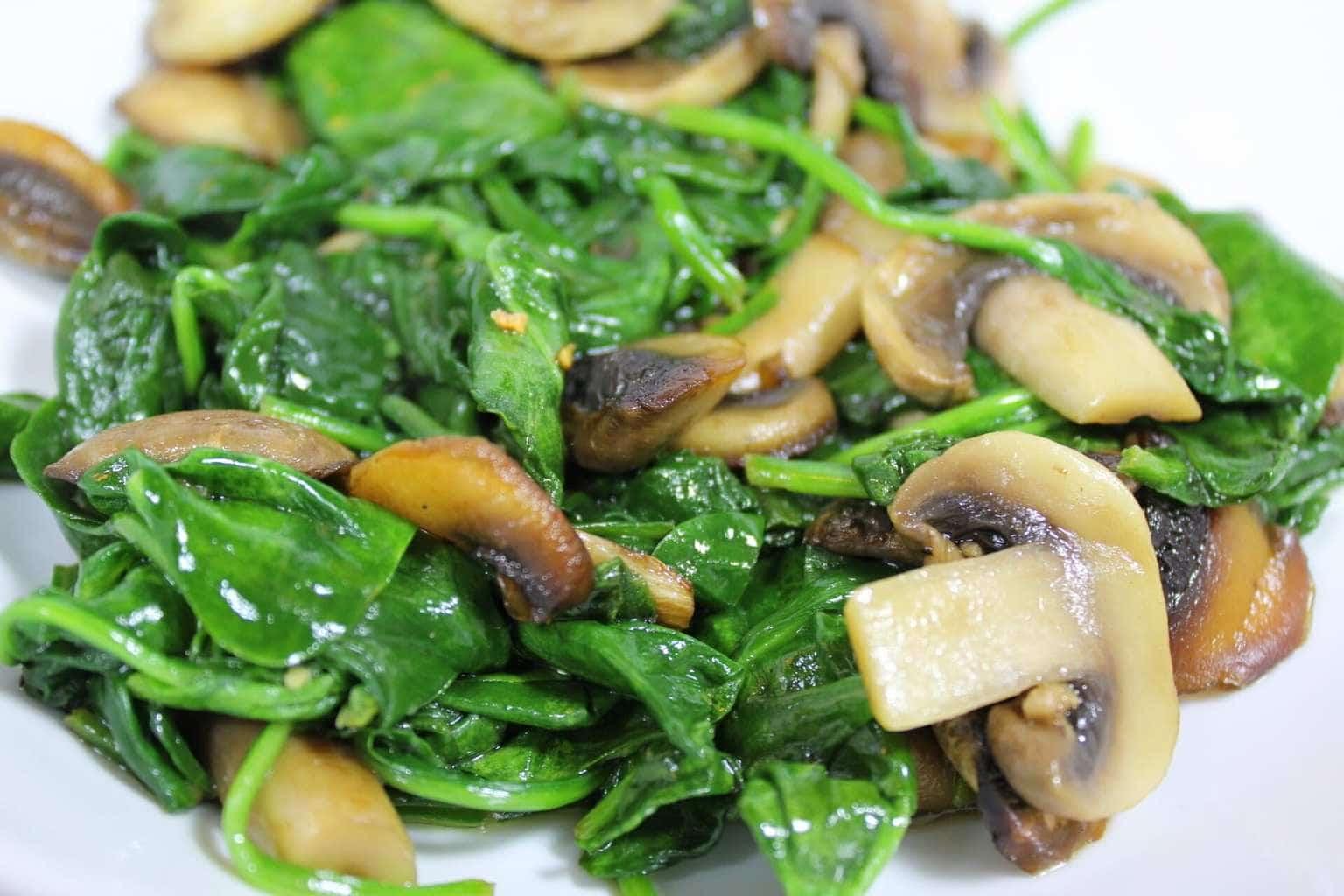 Sautéed Mushrooms with Caramelized Mushrooms