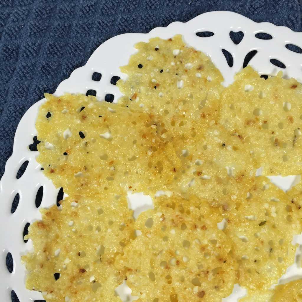Parmesan Frico Crisps