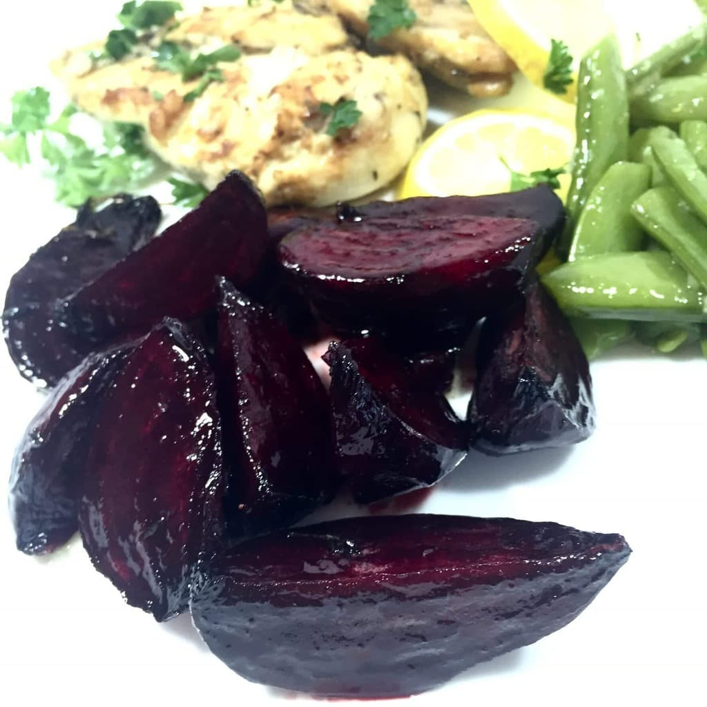 Pomegranate Orange Roasted Beets