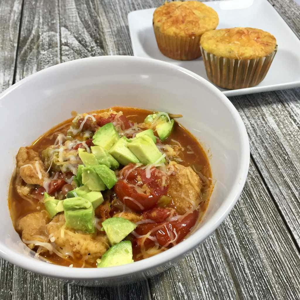 Slow Cooker Chicken Chile