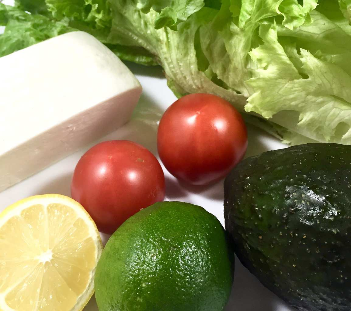 Chicken Tacos with Avocado Salad
