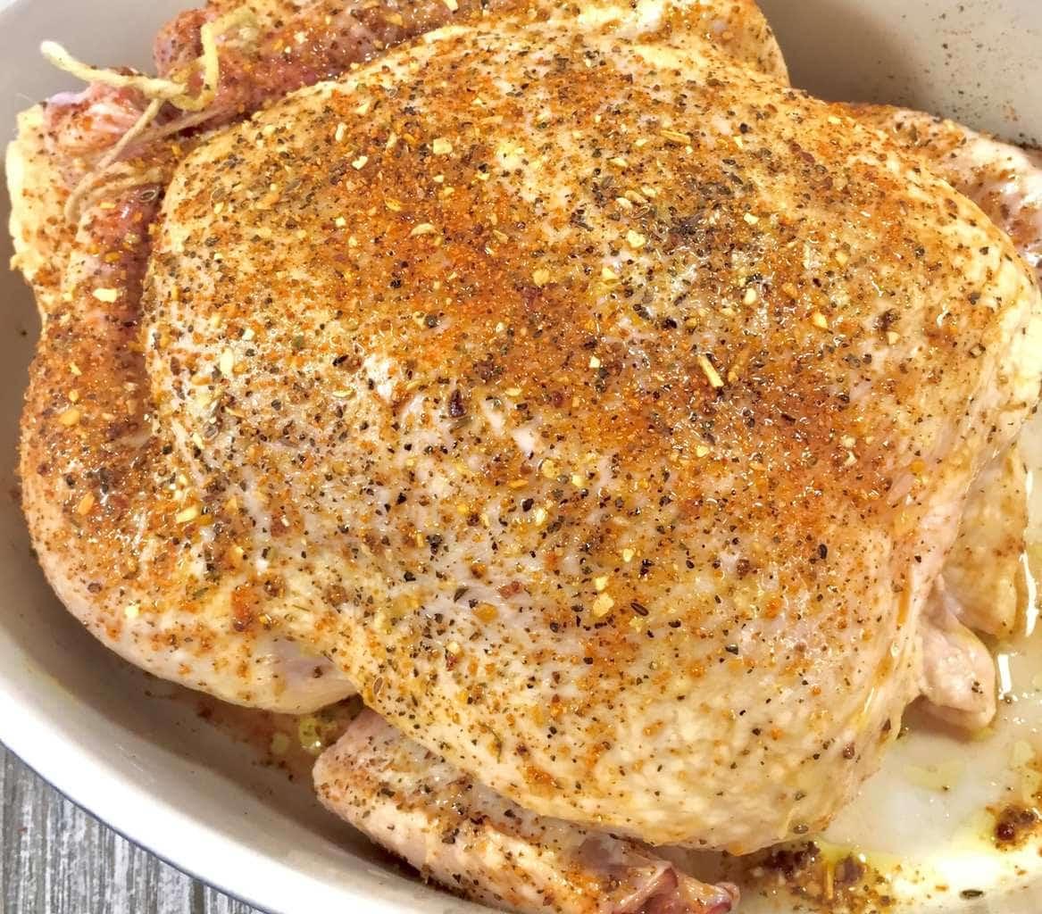 Bourbon Roasted Chicken