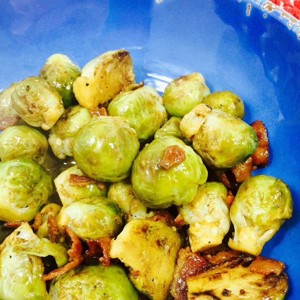 Braised Brussels Sprouts 1
