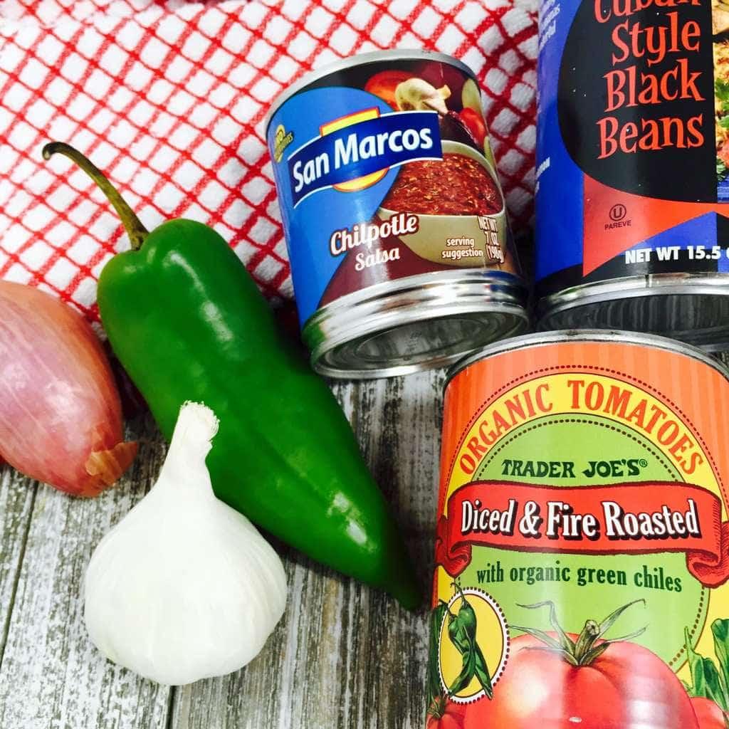 Tex-Mex Chile Ingredients