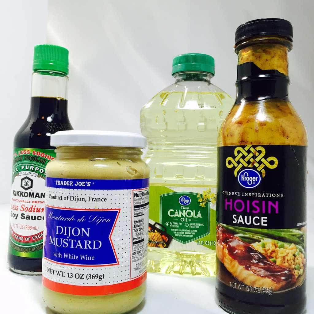 Marinade ingredients Best Roast Chicken